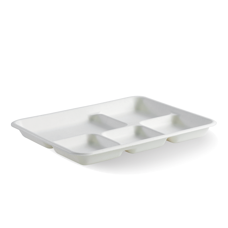 5-Compartment BioCane Tray