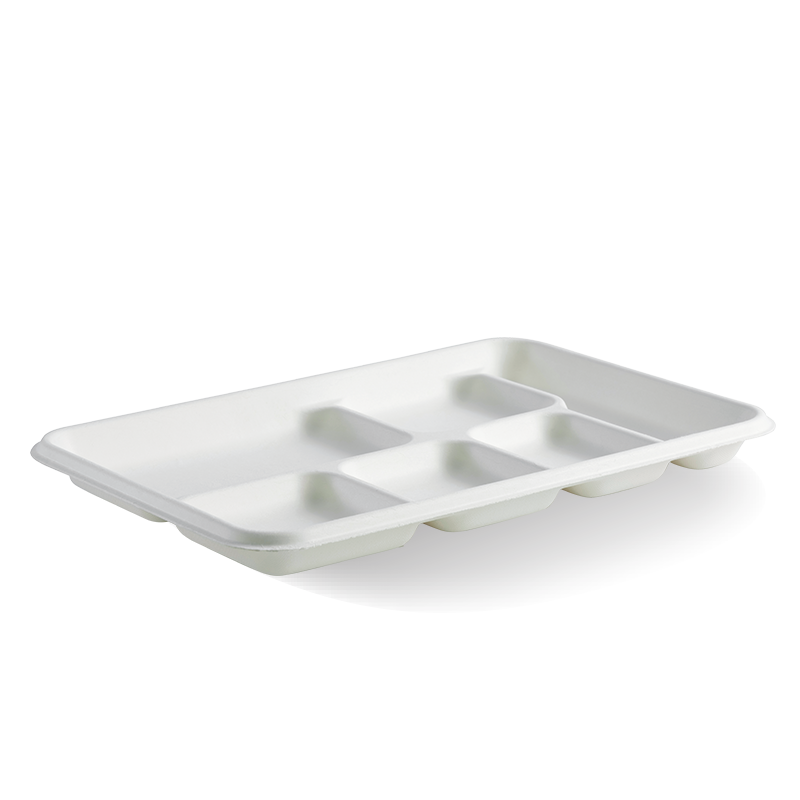 6-Compartment BioCane Tray