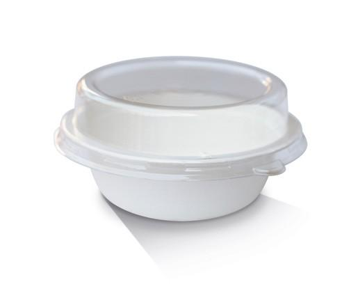 PET Lid / Sugarcane Bowl 18oz