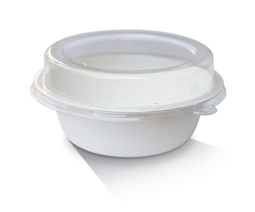 PET Lid / Sugarcane Bowl 32oz