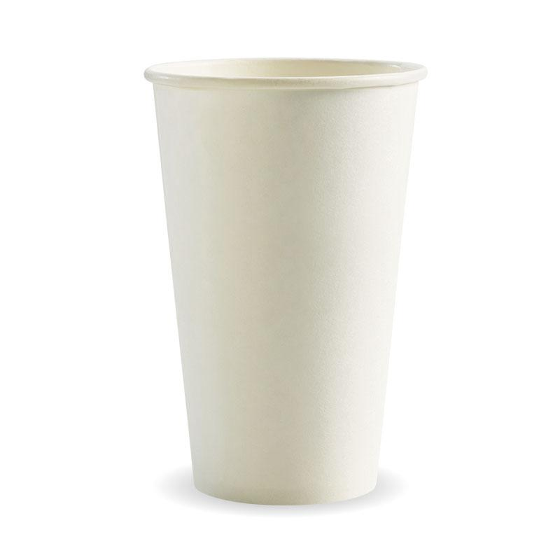 16oz Single Wall White BioCup