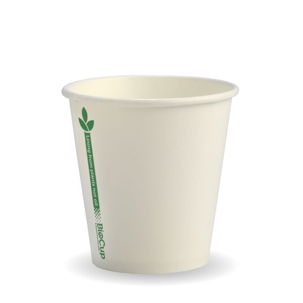 6oz BioCup Green line Single Wall