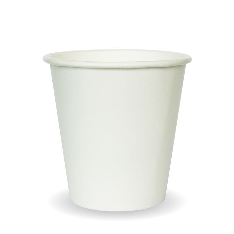 6oz Single Wall White BioCup