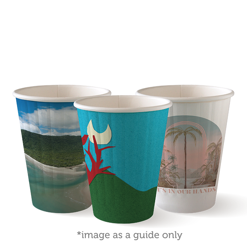8oz Double Wall Art Series BioCup
