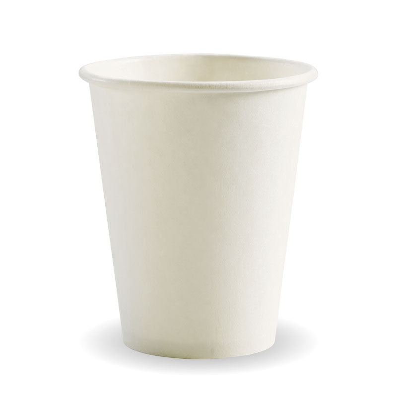 8oz Single Wall White BioCup