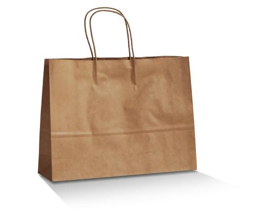 Brown Kraft Bag - Medium Boutique