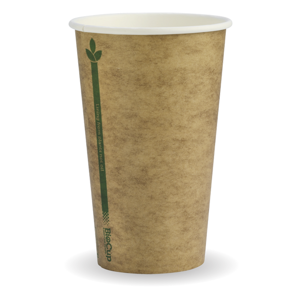 12oz Green Stripe Biocup
