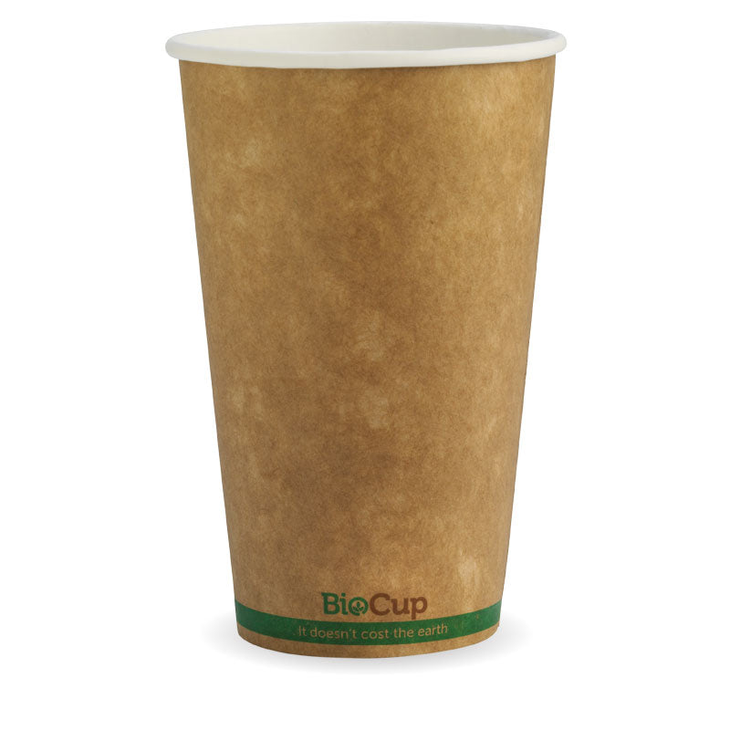 16oz Single Wall Kraft Brown BioCup