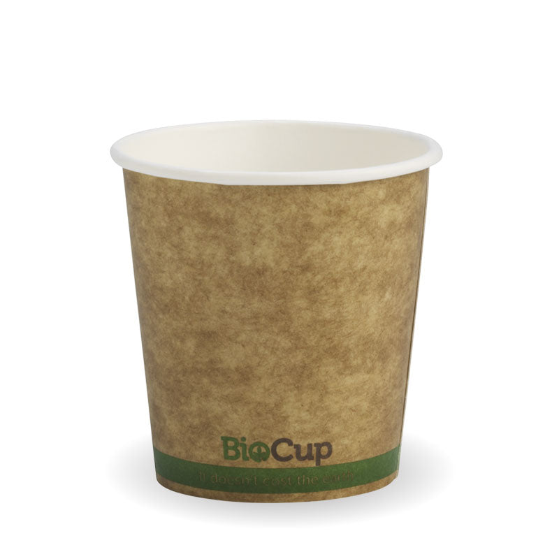 4oz Single Wall Kraft Brown BioCup