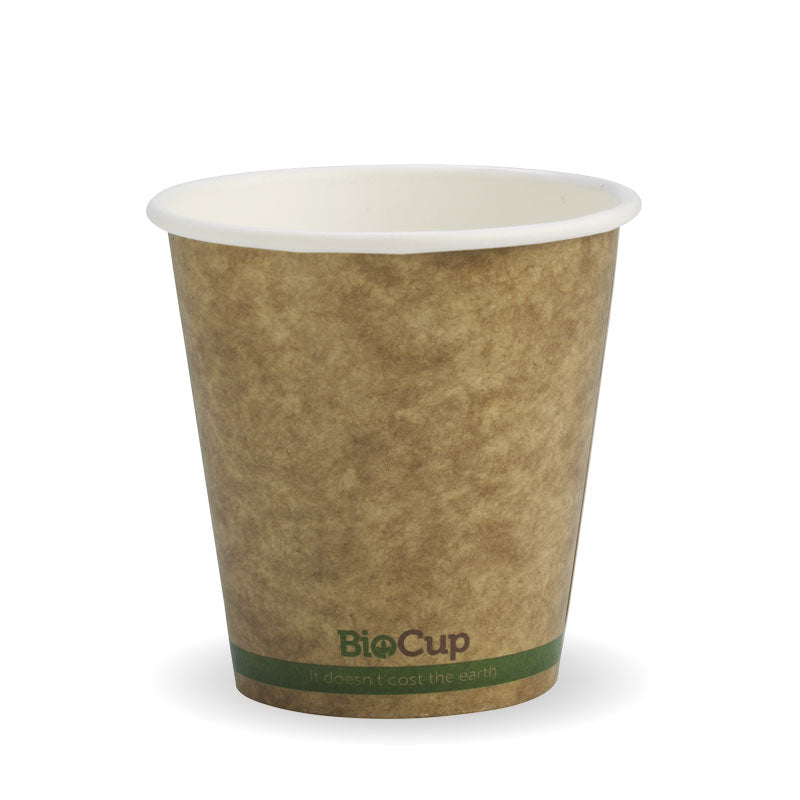 6oz Single Wall Kraft Brown BioCup