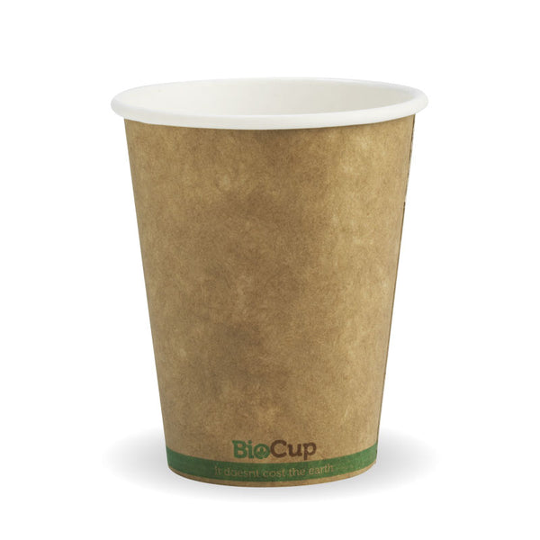 8oz Single Wall Kraft Brown BioCup