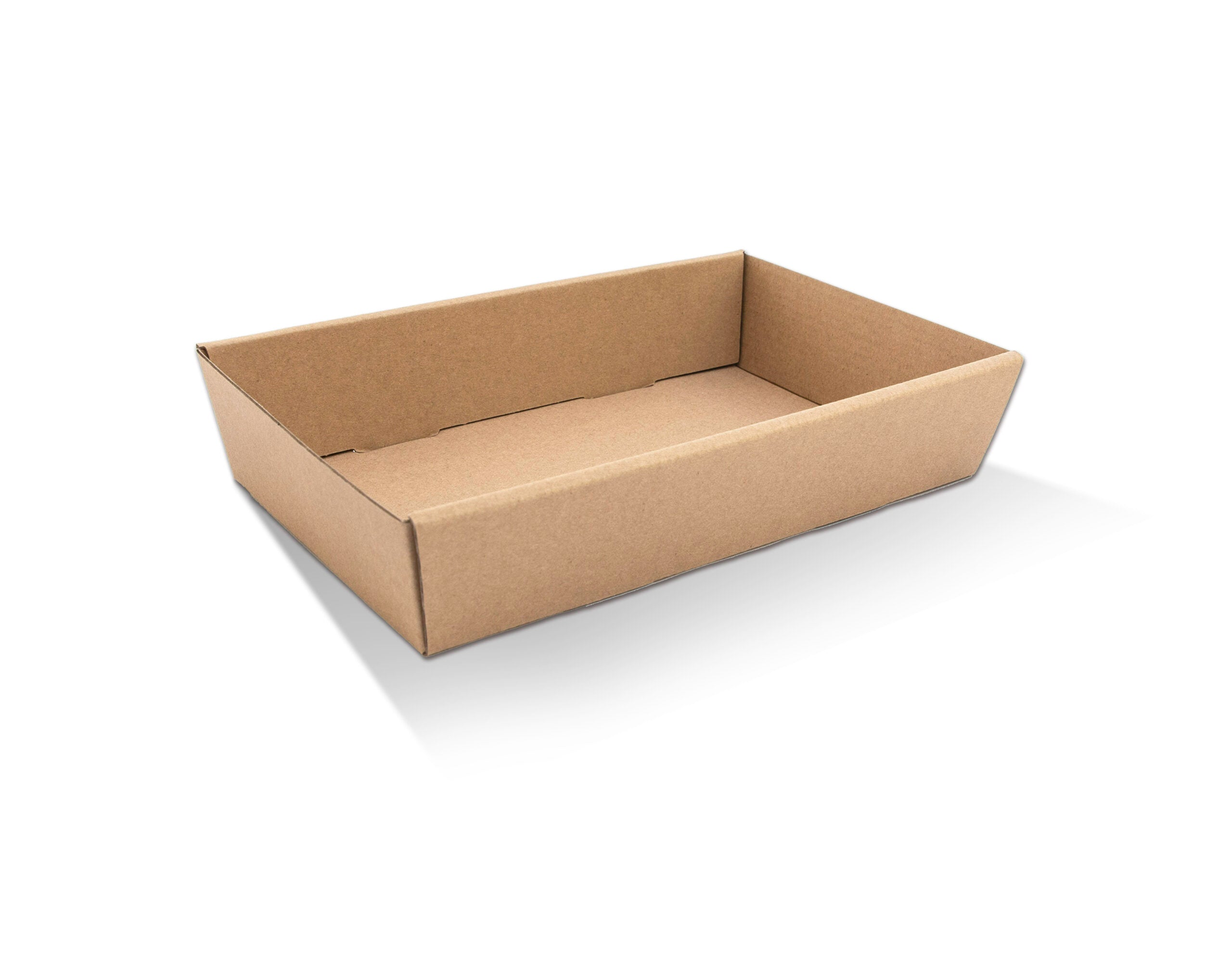 Brown Catering Tray - Large 50mm High