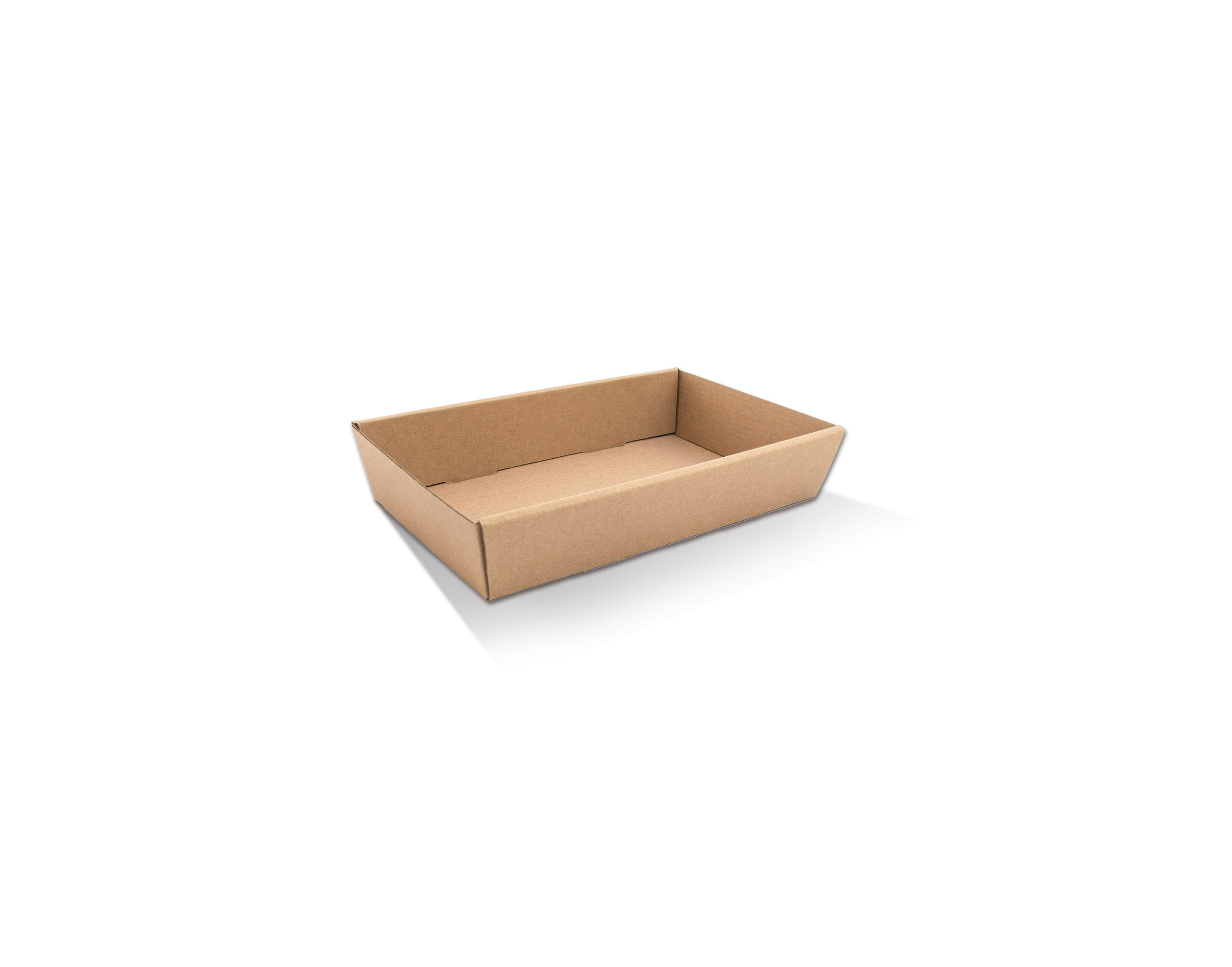 Brown Catering Tray - Small 50mm High