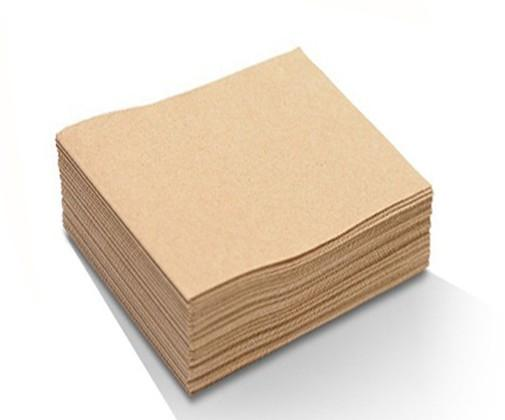 Recycled 2ply lunch napkin - 1/4 fold
