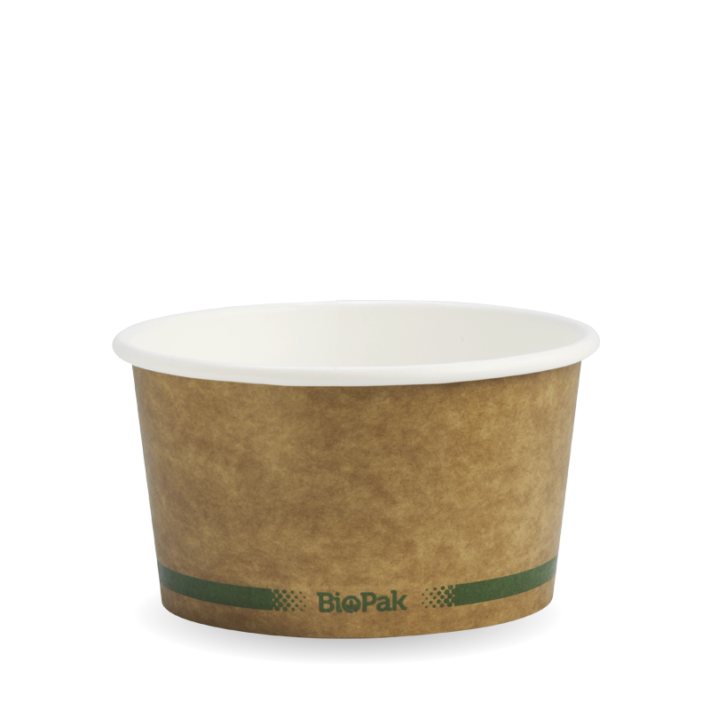 12oz Kraft Brown BioBowl