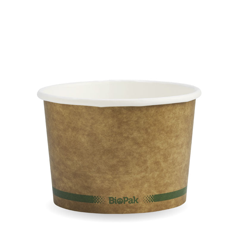 16oz Kraft Brown BioBowl