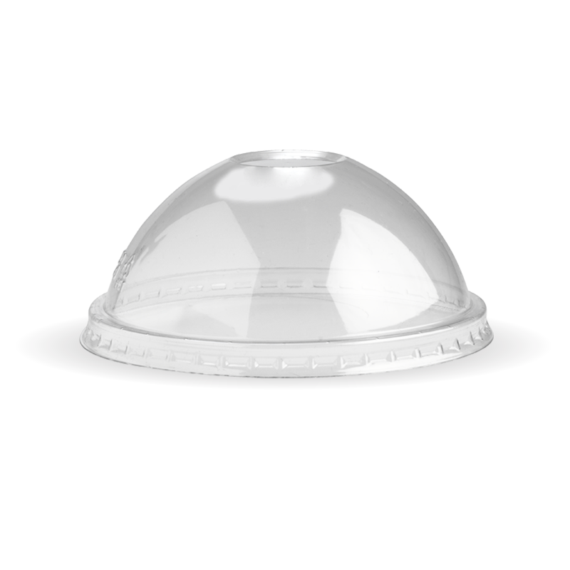 8oz BioBowl Clear PET Dome Lid