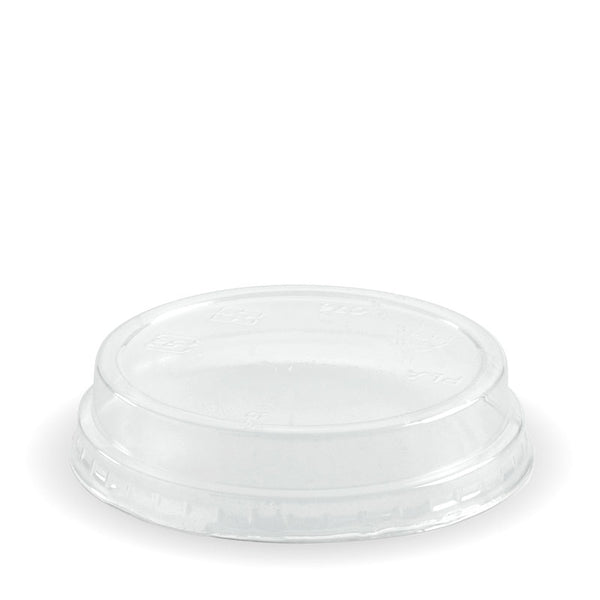 60-280ml PLA BioCup Dome Lid No Hole