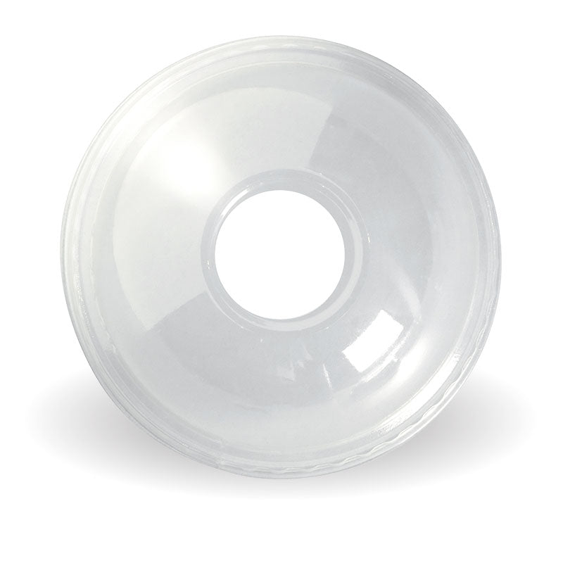 300-700ml BioCup Clear Dome 22mm Hole Lid