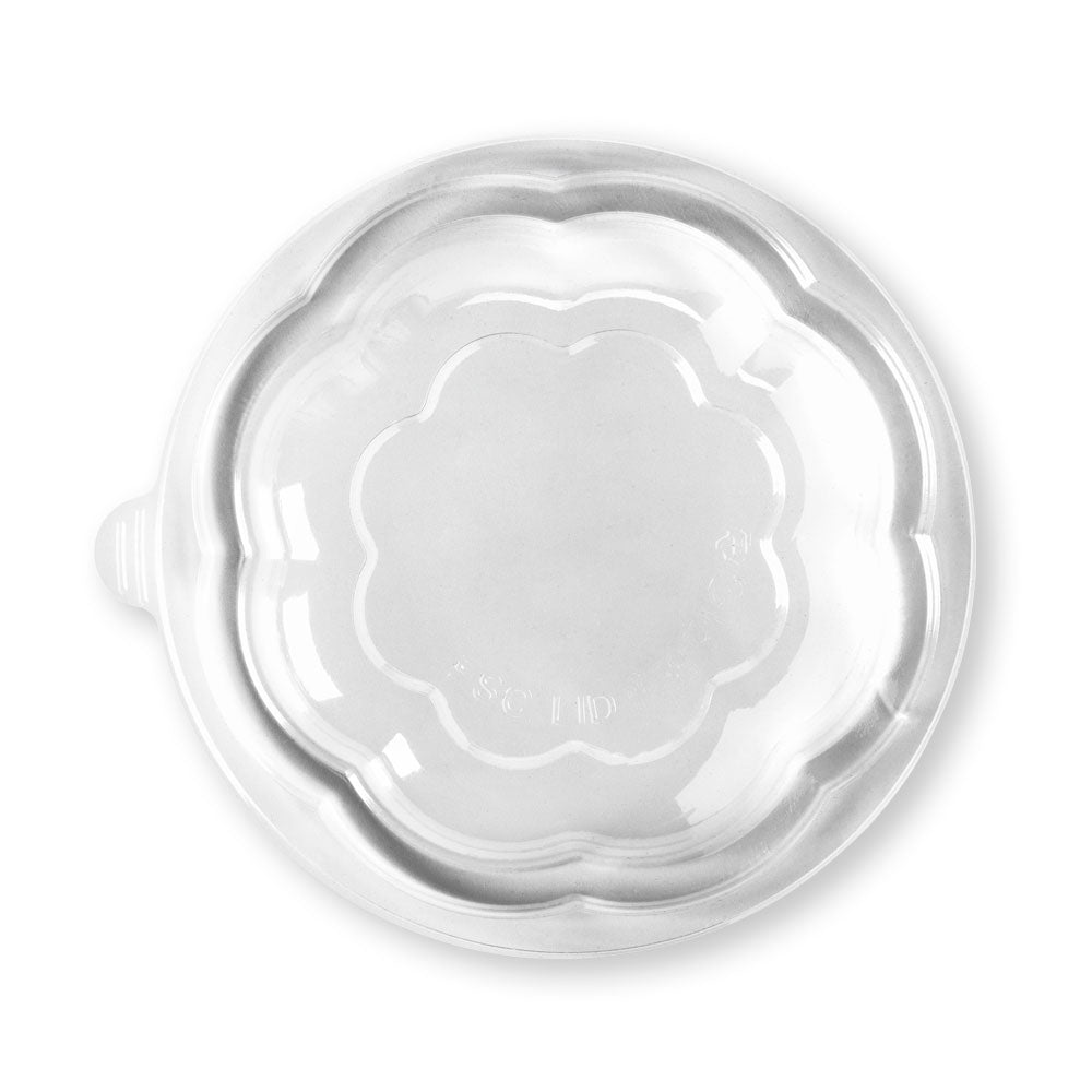 24 & 32oz Clear Salad Biobowl Lid