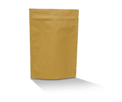 Brown kraft coffee pouch 500G