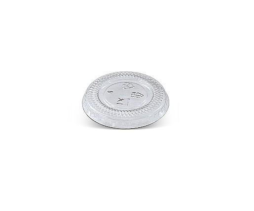 1 oz PET Flat Lid/ No Hole