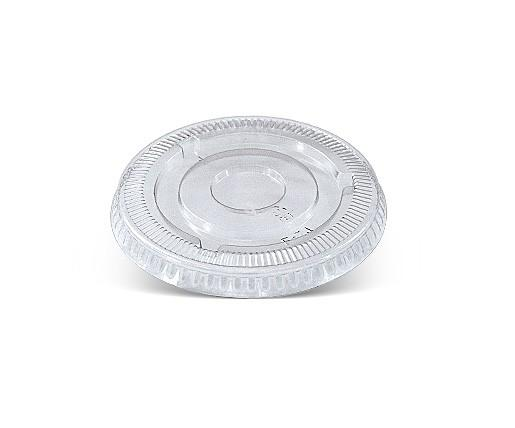 4 oz PET Flat Lid/ No Hole