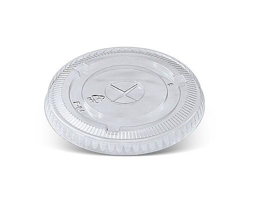 10/12oz Cup PET Flat Lid /X Slot
