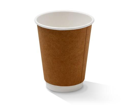 12oz Double Wall Cup/Kraft