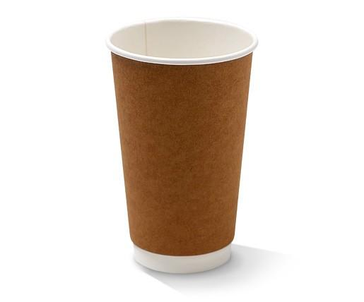 16oz Double Wall Cup/Kraft