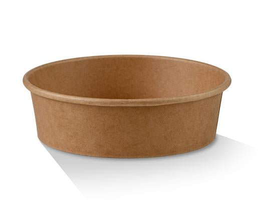 PLA Coated Kraft Salad Bowl 16oz