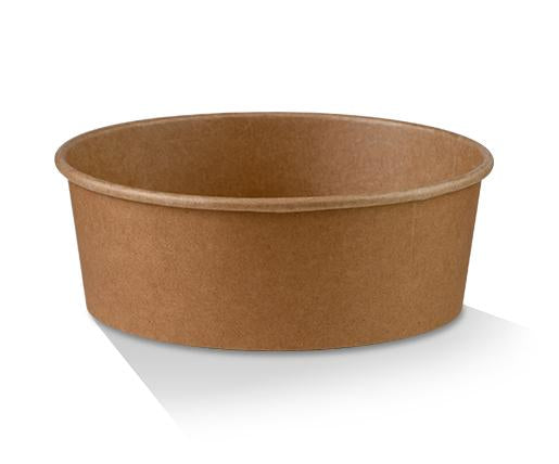 PLA Coated Kraft Salad Bowl 25oz