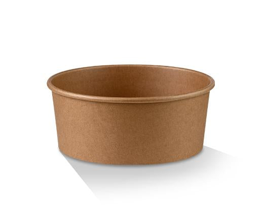 PE Coated Kraft Salad Bowl 32oz
