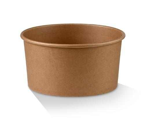 PLA Coated Kraft Salad Bowl 42oz