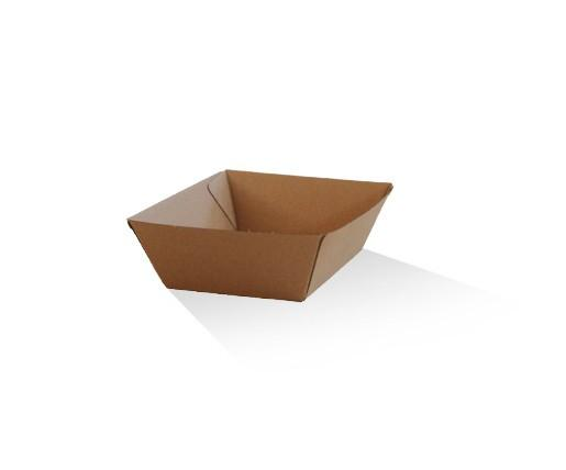 Tray small / Brown Corrugated Kraft / Plain