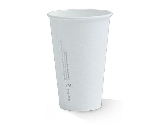 16oz PLA coated Single Wall Cup / plain
