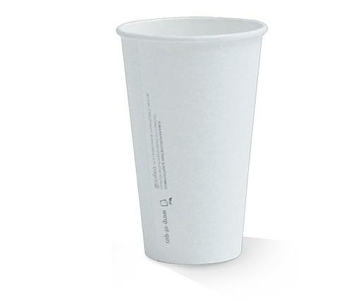 20oz PLA coated Single Wall Cup / plain