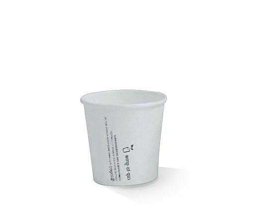 4oz PLA coated Single Wall Cup / plain