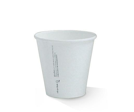 *8oz PLA coated Single Wall Cup /one-lid-fits-all