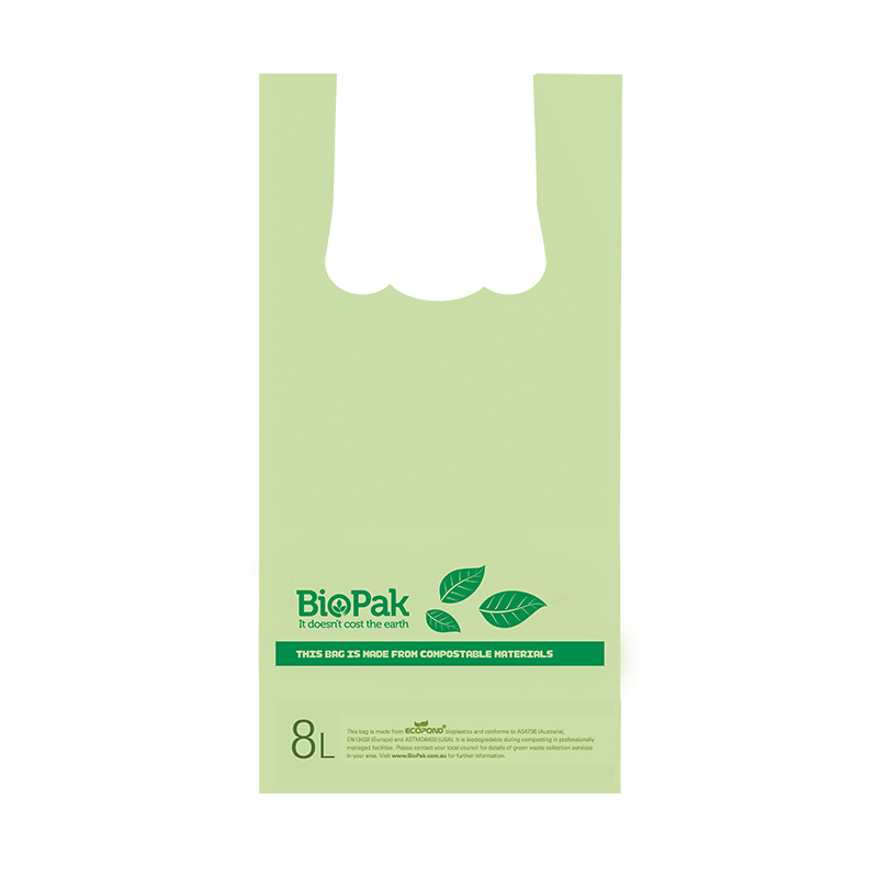 8L BioCheckout Bag