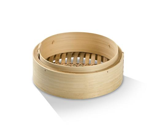 Bamboo Steamer Base 8""