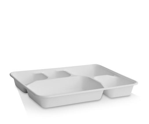 5 Deep Compartment Tray