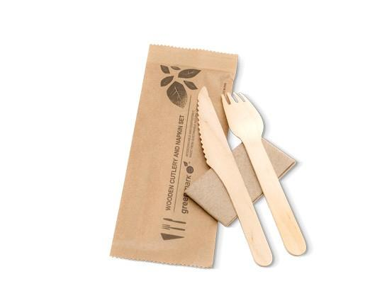 Fork/Knife/Napkin SET