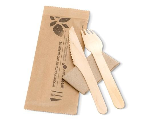 Fork/Knife/Spoon/Napkin SET