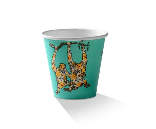 8oz PLA coated Double Wall Cup /Animal-Print