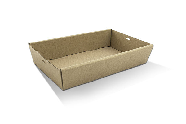 Brown Catering Tray - Medium 50mm High