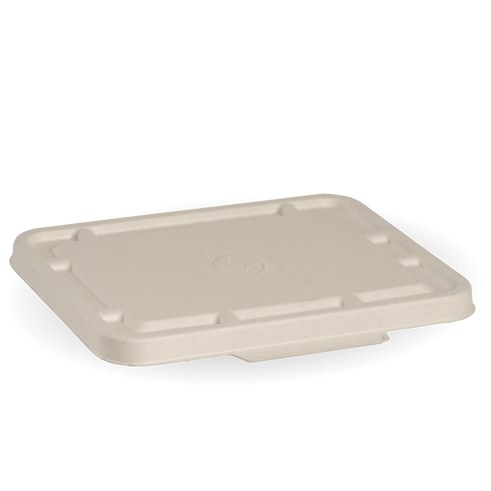 2 & 3 Compartment Natural BioCane Takeaway Lid