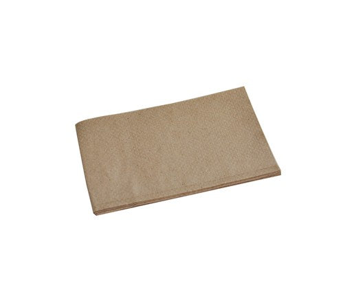 Recycled 1ply Dispenser Napkin - 1/6 Fold 240x225 mm