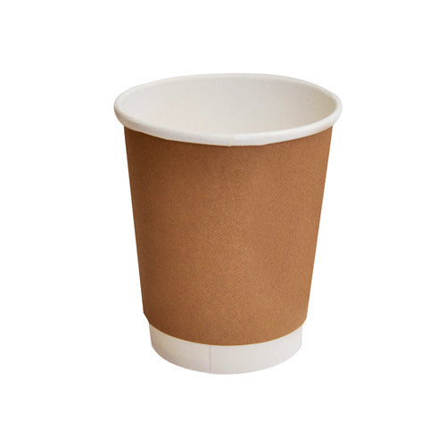 8oz PLA coated Double Wall Cup/ standard