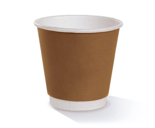 *8oz(90mm) PLA coated Double Wall Cup/one-lid-fits-all